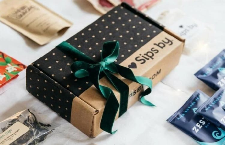 Simply By tea subscription box