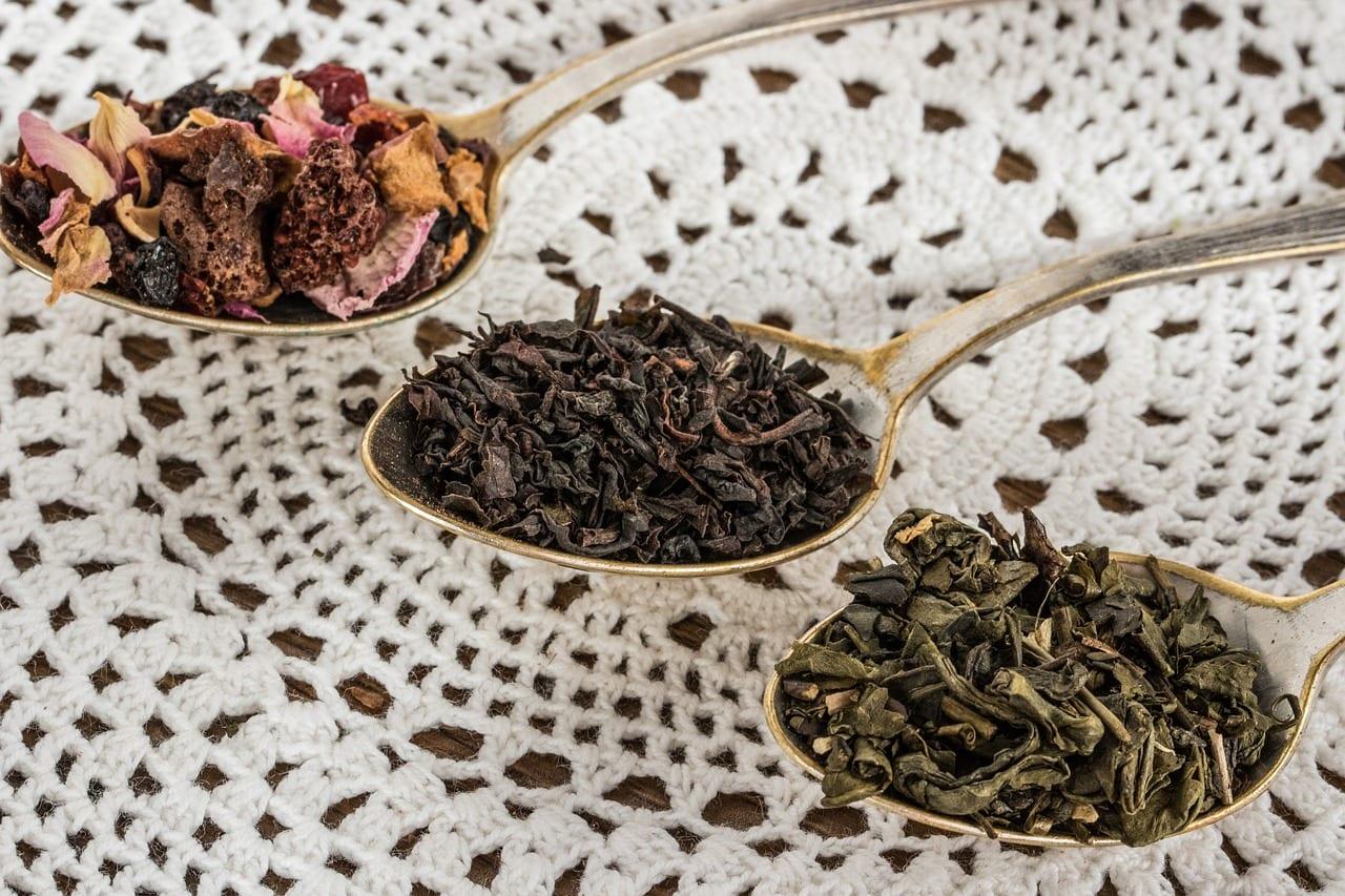 flavored loose leaf tea