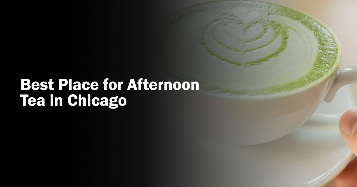 chicago afternoon tea