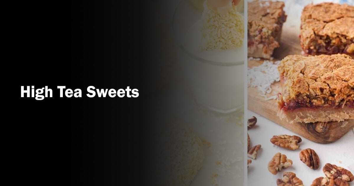 high tea sweets recipes