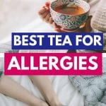 Teas for Allergies | Best Tea for Allergy Symptoms | The Best Teas for Allergies | Allergy Relief Teas | The Best tea for Allergy Sufferers | Allergy Season Teas | Best Spring Teas | Herbal Teas for Spring | Best Tea for Congestion | #tea #herbaltea #allergies #spring #allergyreleif #herbalremedy